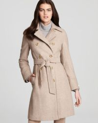 CALVIN KLEIN 205W39NYC - Double Breasted Belted Trench Coat - Lyst