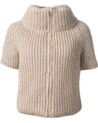 Herno - Chunky Knit Top - Lyst