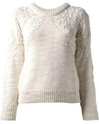 IRO Camilia Knitted Jumper - Lyst