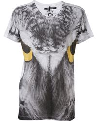 Sons Of Heroes Owl Eyes Graphic Tshirt white - Lyst