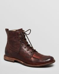 Frye - Leather Work Boots - Phillip - Lyst