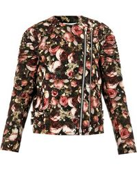 Givenchy Lace Bomber Jacket pink - Lyst