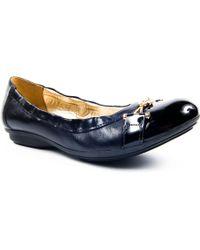 Jones Bootmaker - Galloway Flat Shoes - Lyst