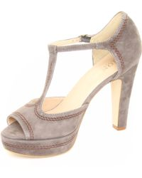 Jones Bootmaker | Cherish Peep Toe Platform Shoes | Lyst