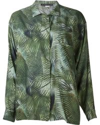 Les Prairies de Paris - Collins Jungle Shirt - Lyst