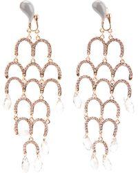 Luxury Fashion Chandelier Earrings - Lyst