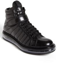 Prada Levitate Quilted Sneaker - Lyst