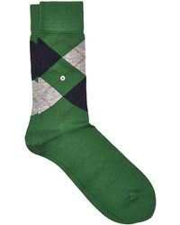 Smythson - Manchester Cotton Argyle Socks - Lyst