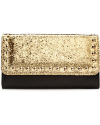 Material Girl Studded Clutch - Lyst