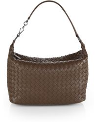 Bottega Veneta Woven Leather Small Shoulder Bag - Lyst