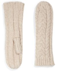 Marc By Marc Jacobs - Chunky Cable Mittens - Lyst