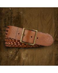 Denim & Supply Ralph Lauren - Braided Leather Belt - Lyst