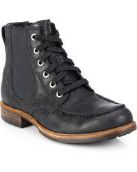 Ugg Jarrett Moc-Toe Utility Boots - Lyst