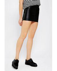 Urban Renewal - Leather Moto Skirt - Lyst