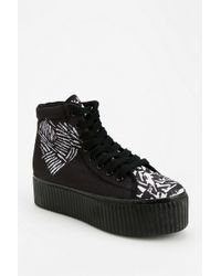 Urban Outfitters - Hiya Love warrior Flatform sneaker - Lyst