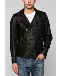 Urban Outfitters Zanerobe Cross Town Leather Jacket - Lyst