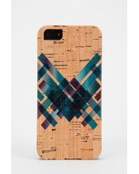 Urban Outfitters - Reveal Cork Iphone 5 Case - Lyst