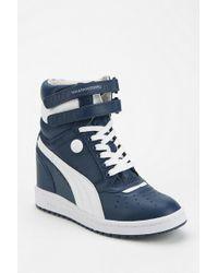 Urban Outfitters - Wedge Hightop Sneaker - Lyst