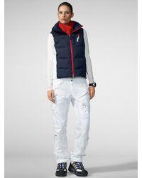 RLX Ralph Lauren - Core Hooded Down Vest - Lyst