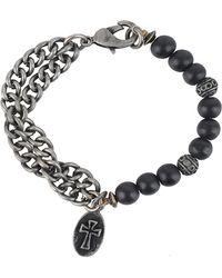 Forever 21 - Cross Charm Bracelet - Lyst