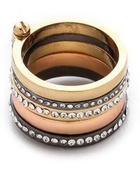 Club Monaco - Monique Stacking Ring - Lyst