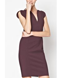 French Connection Lolo Stretch Classic Dress - Lyst