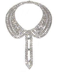 Isaac Mizrahi Crystal Chain Collar Necklacebracelet - Lyst