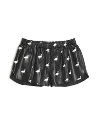 Love Leather - Flamingo Tight End Short - Lyst