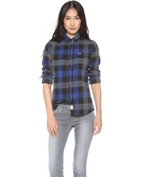 Penfield - Chatham Plaid Button Down - Lyst