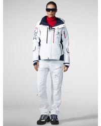 RLX Ralph Lauren - White Vail Ski Jacket - Lyst