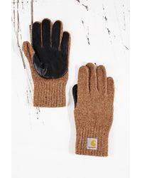 Carhartt - Logg Gloves in Black - Lyst