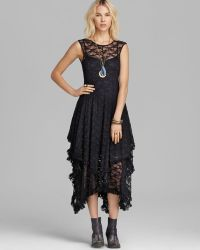 Free People Slip Dress - Stretch Lace French Court - Lyst
