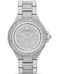 Michael Kors Midsize Camille Chronograph Glitz Watch 43mm - Lyst