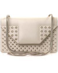 Saint Laurent Betty Studded Leather Bag - Lyst