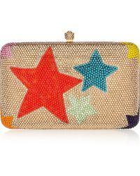 Sylvia Toledano - Wonderstar Swarovski Crystal-Embellished Box Clutch - Lyst