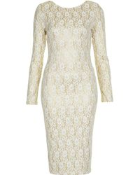 Topshop Jackie Bodycon Dress By Tfnc - Lyst