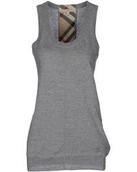Burberry Brit Sleeveless Sweater - Lyst