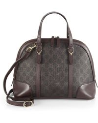 Gucci Small Original Gg Dome Satchel - Lyst