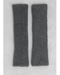 & Other Stories - Mohair-Blend Arm Warmers - Lyst