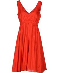 P.A.R.O.S.H. Kneelength Dress - Lyst