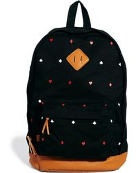 Herschel Supply Co. - Asos Backpack with Playing Card Print - Lyst