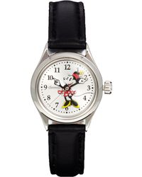 Disney - Classic Minnie Mouse Black Watch - Lyst