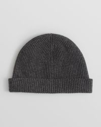 Vince - Cashmere Ribbed Hat - Lyst