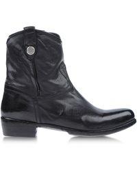 Alberto Fasciani Ankle Boots - Lyst