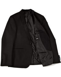 Insight - Asos Slim Fit Blazer in Silver Fleck - Lyst