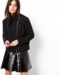 Back by Ann-Sofie Back - Asos Cocoon Biker Jacket - Lyst