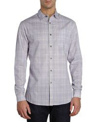 Elie Tahari - Window Check Shirt - Lyst