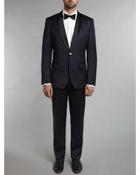 Hugo Boss Hyatsglare Shawl Collar Slim Fit Dinner Suit - Lyst