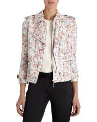 Icb - Multicolor Tweed Zip Jacket - Lyst