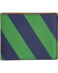 Jack Spade - Diagonal Stripe Billfold Wallet - Lyst